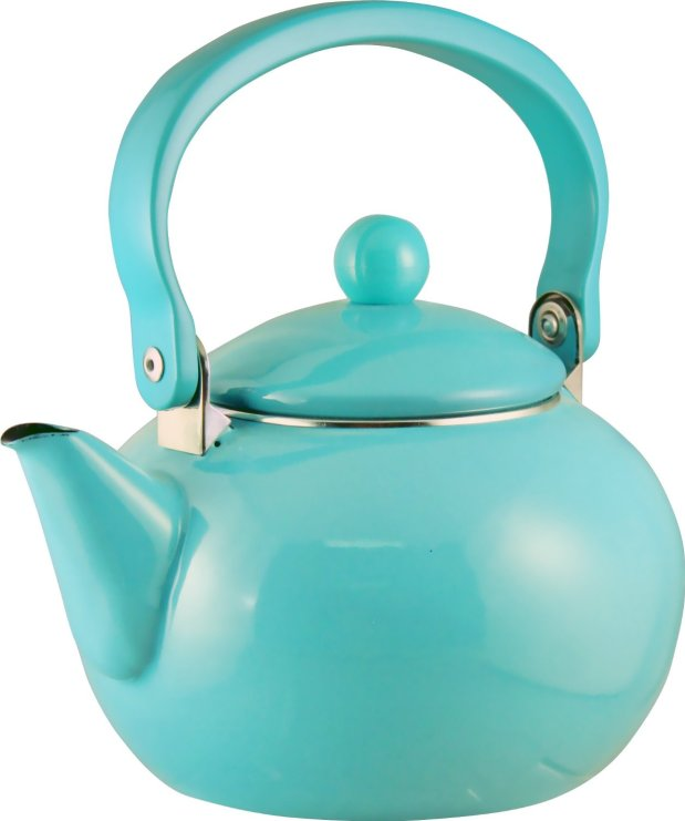 Reston Lloyd Calypso Basics 2 Quart Teakettle, Turquoise