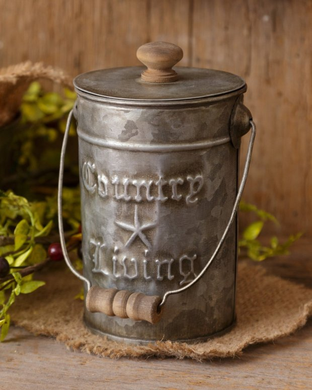 Your Hearts Delight Country Living Canisters with Lids