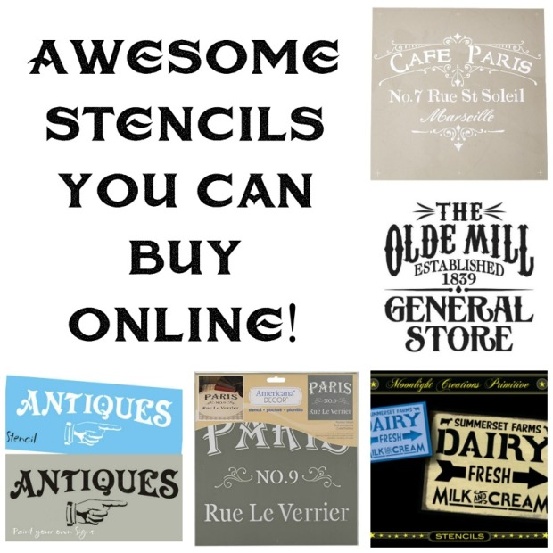 Awesome Stencils you can buy online!