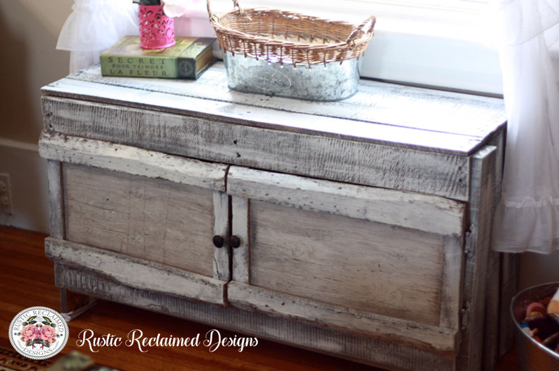 Rustic Toy Storage Chest