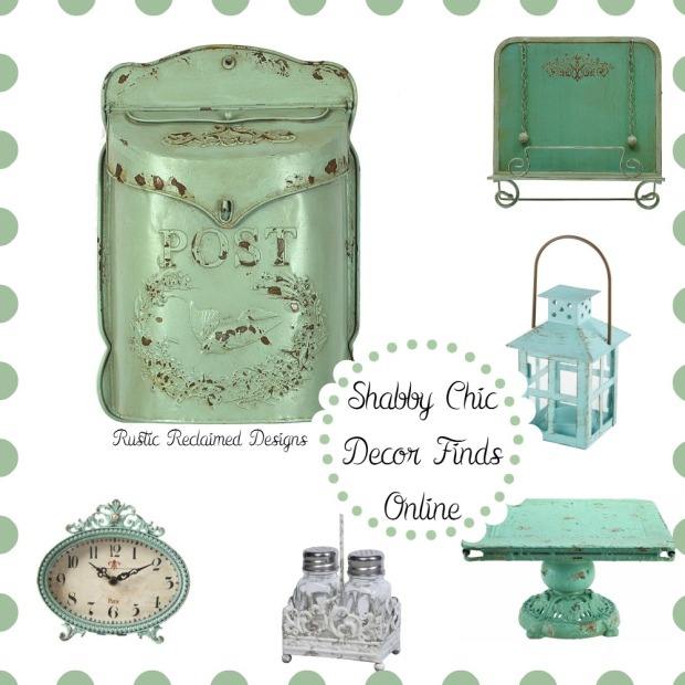 Shabby Chic Decor Finds Online! – Rustic Reclaimed Designs ...