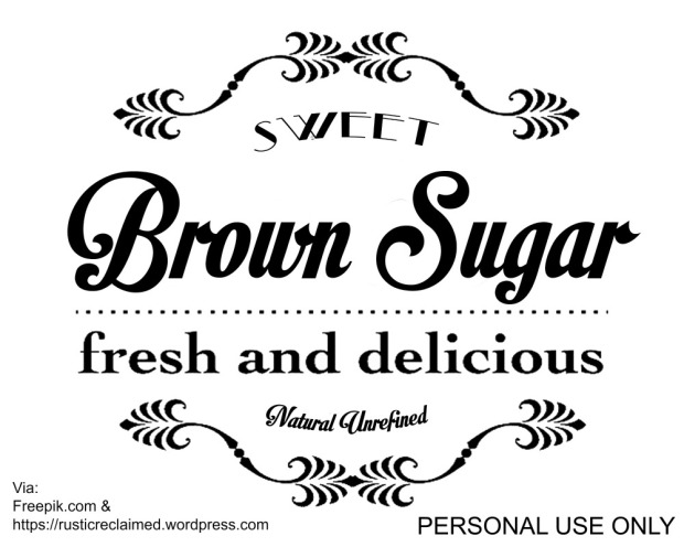 brown sugar graphic