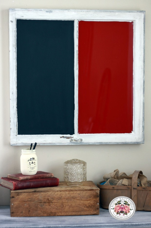 Dry Erase / Chalkboard window