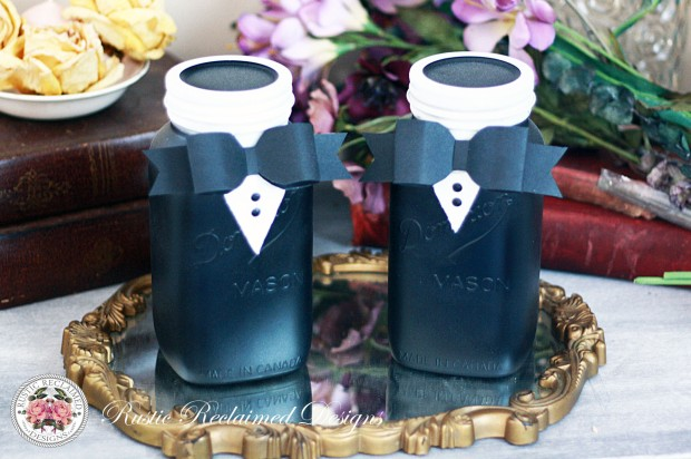 Groom & Groom Wedding Jars