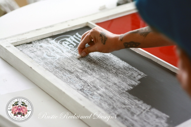 Prepping your New Chalkboard for use.