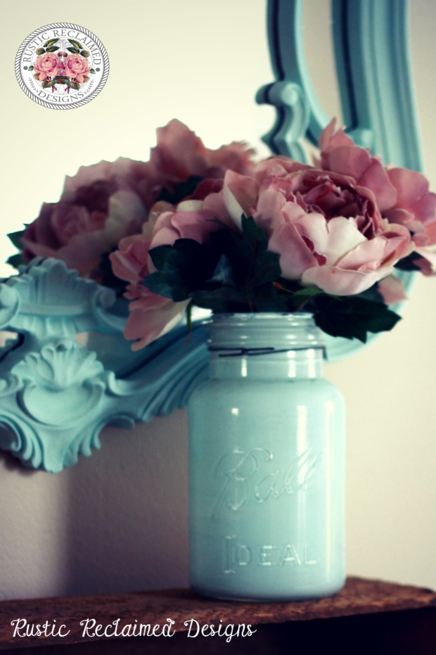 Ball Jar Makeover