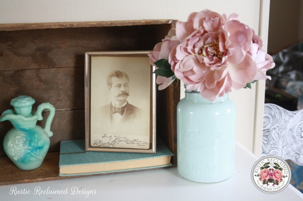Ball Jar Makeover with Country Chic Paint