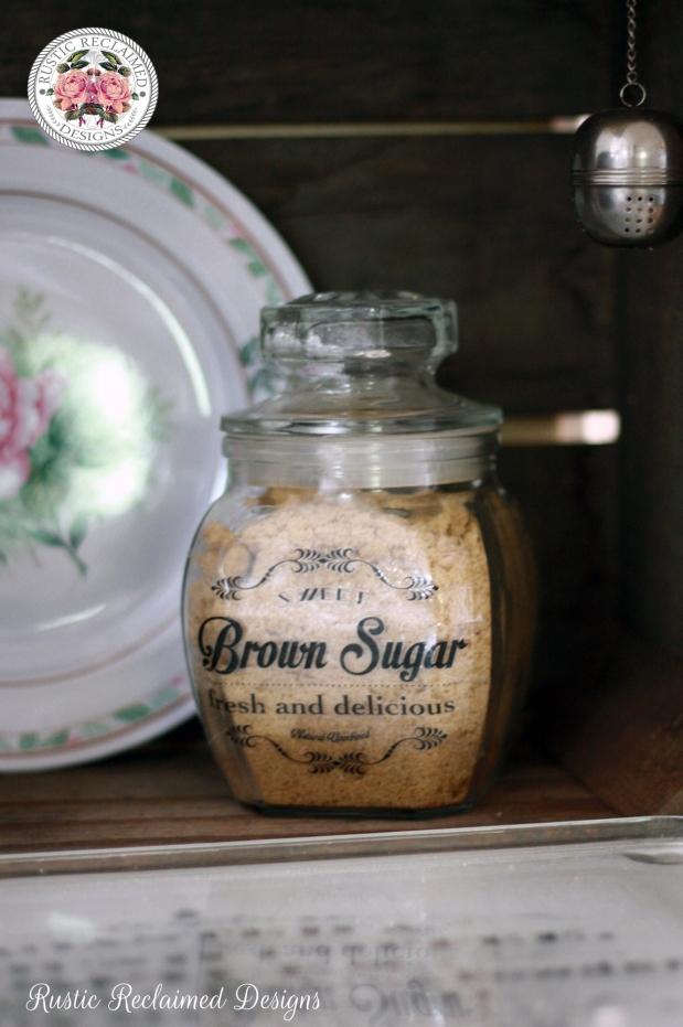 DIY Brown Sugar Label