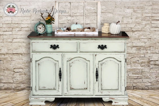 Pistachio Delight Buffet Makeover
