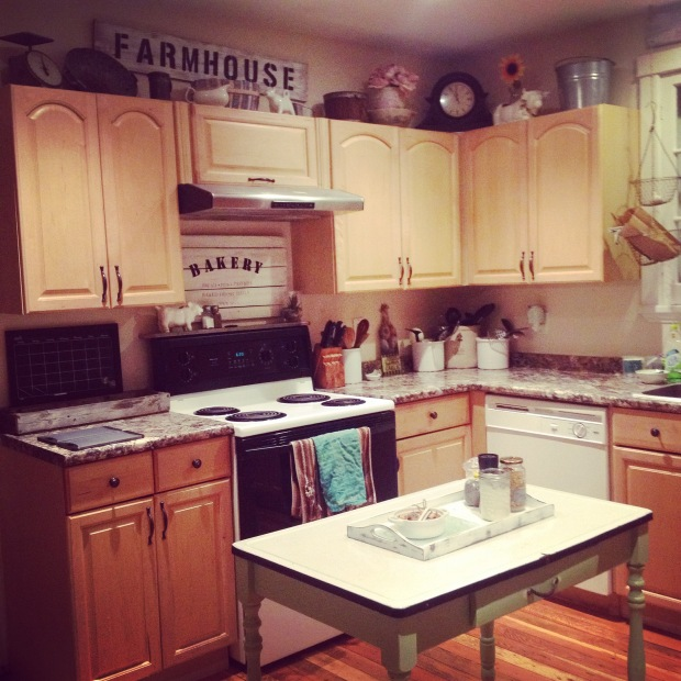 Rustic Reclaimed Kitchen - Briar-Rose's house.