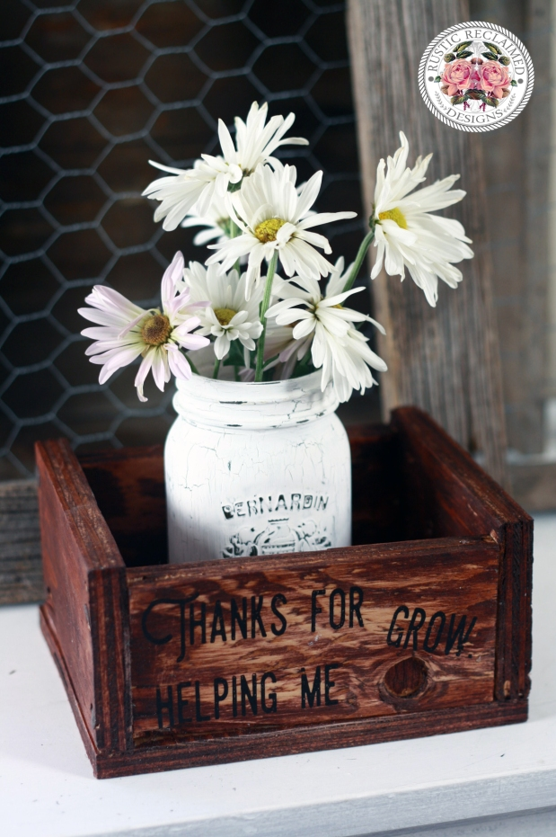 Teacher Gift: Plant Crate