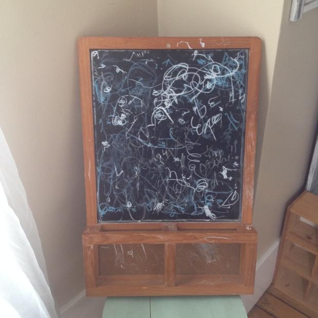 Chalkboard Makeover - Before.