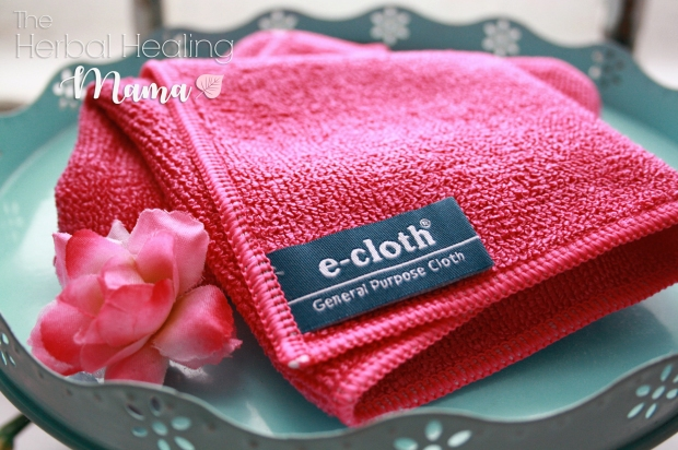 e-cloth - disinfect your home using only water.