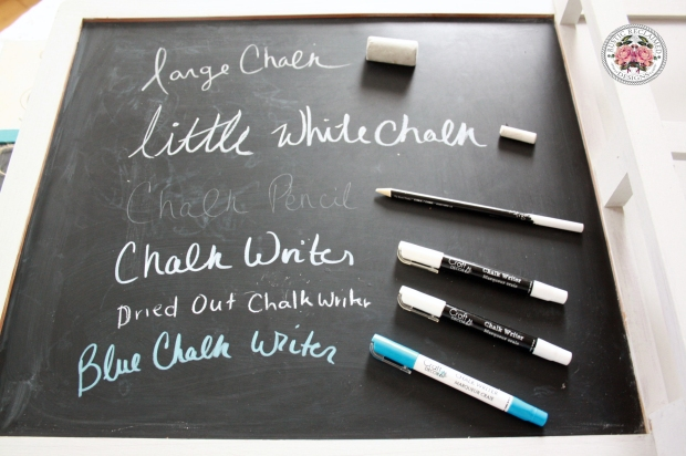 Differetn Chalk Writer Options