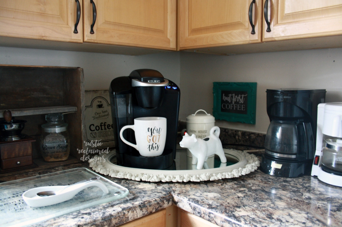 Coffee Station on the Counter